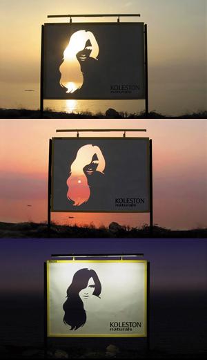 Креативная реклама пример фото.